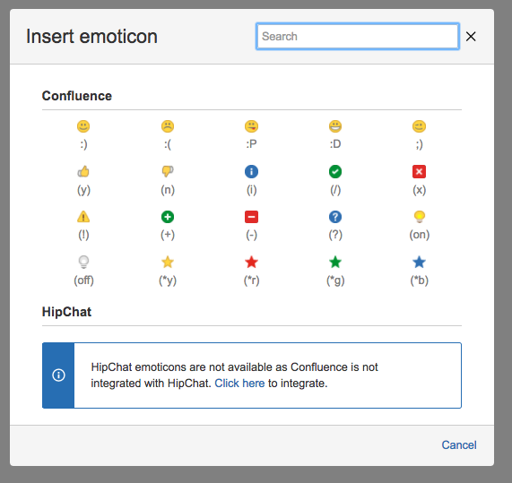 Confluence How To Add Symbols And Smiley Faces Confluence